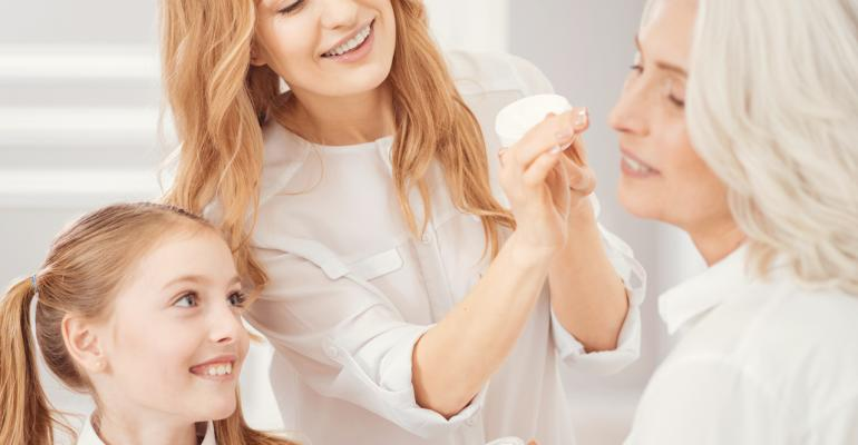 Skincare by generation